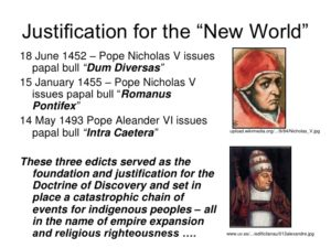 Pope Justify's the Trans Atlantic Slave Trade