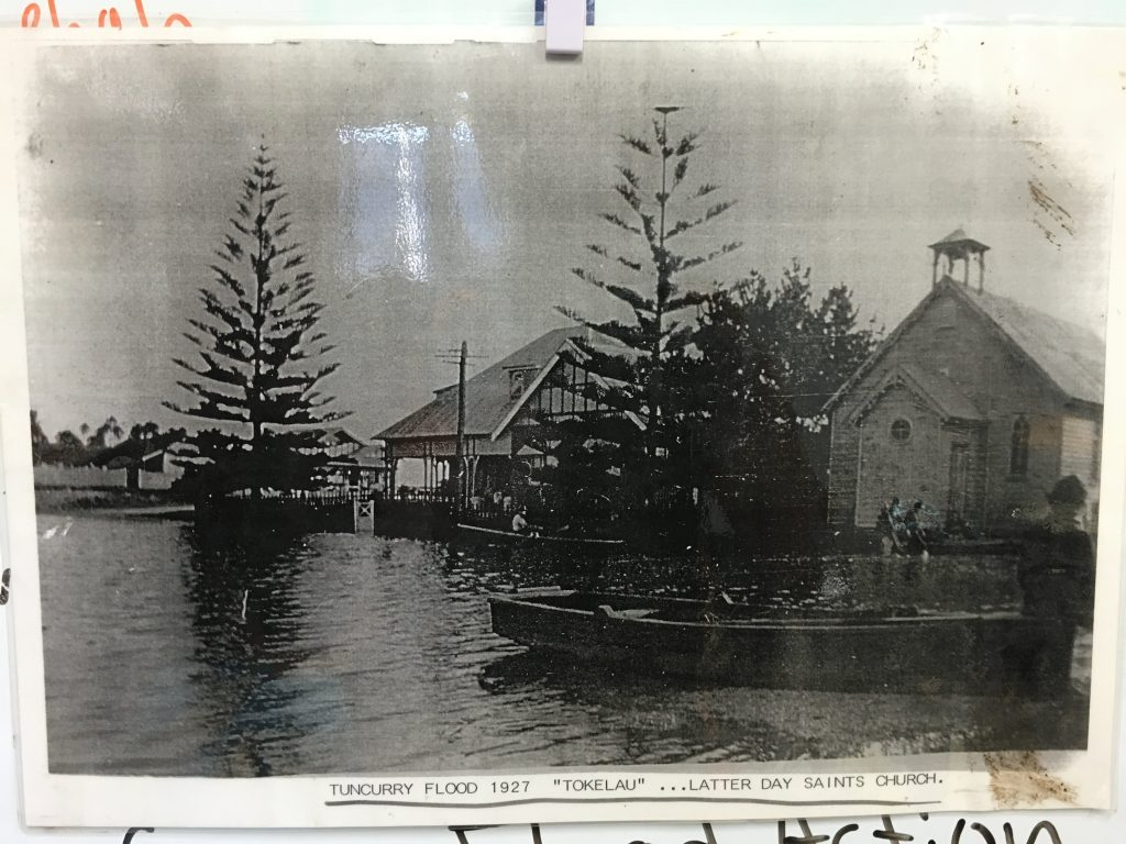 Example of Tokelau Flood impact of 1927